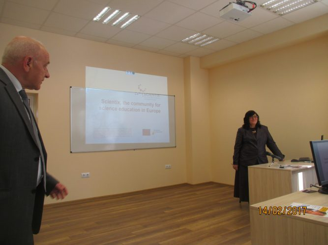 Presentation of Compass project during opening of new physics computer lab at VCC of CTS, Pravets, Bulgaria