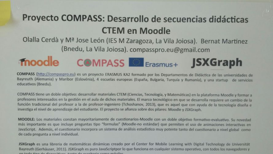 COMPASS project presented  at Alacant University