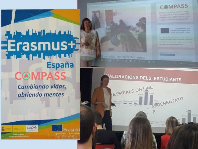 Compass Project  in  the Conference: Erasmus +, exchange of   good practices