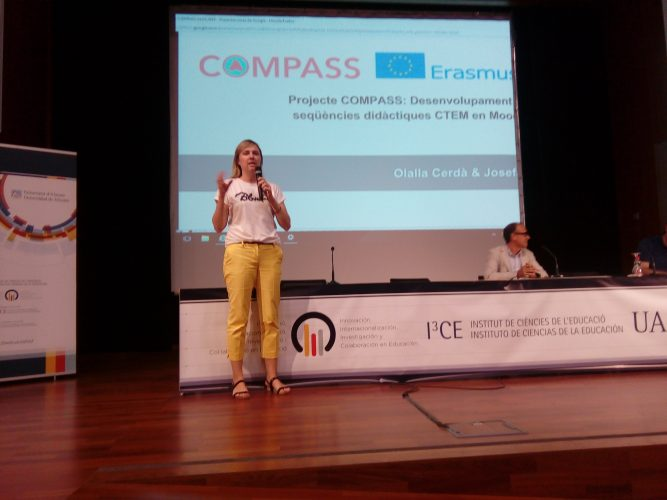 COMPASS at innovative schools Conference at Alacant University