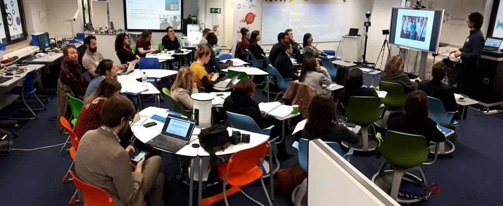 "Compass project was also in The 12th Scientix Projects Networking Event ""Gender and Innovation in STE(A)M Education""Brussels (5/12/2017)"